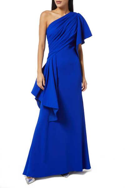 Aboah One-Shoulder Gown