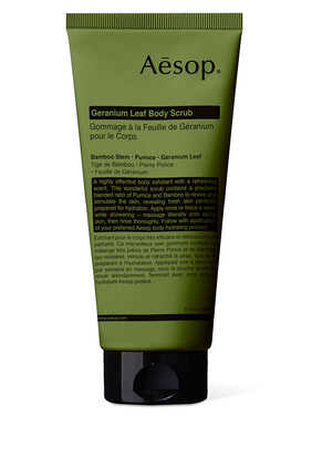 Geranium Leaf Body Scrub
