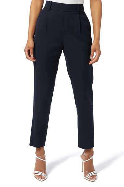 Side Strap Slim Fit Pants