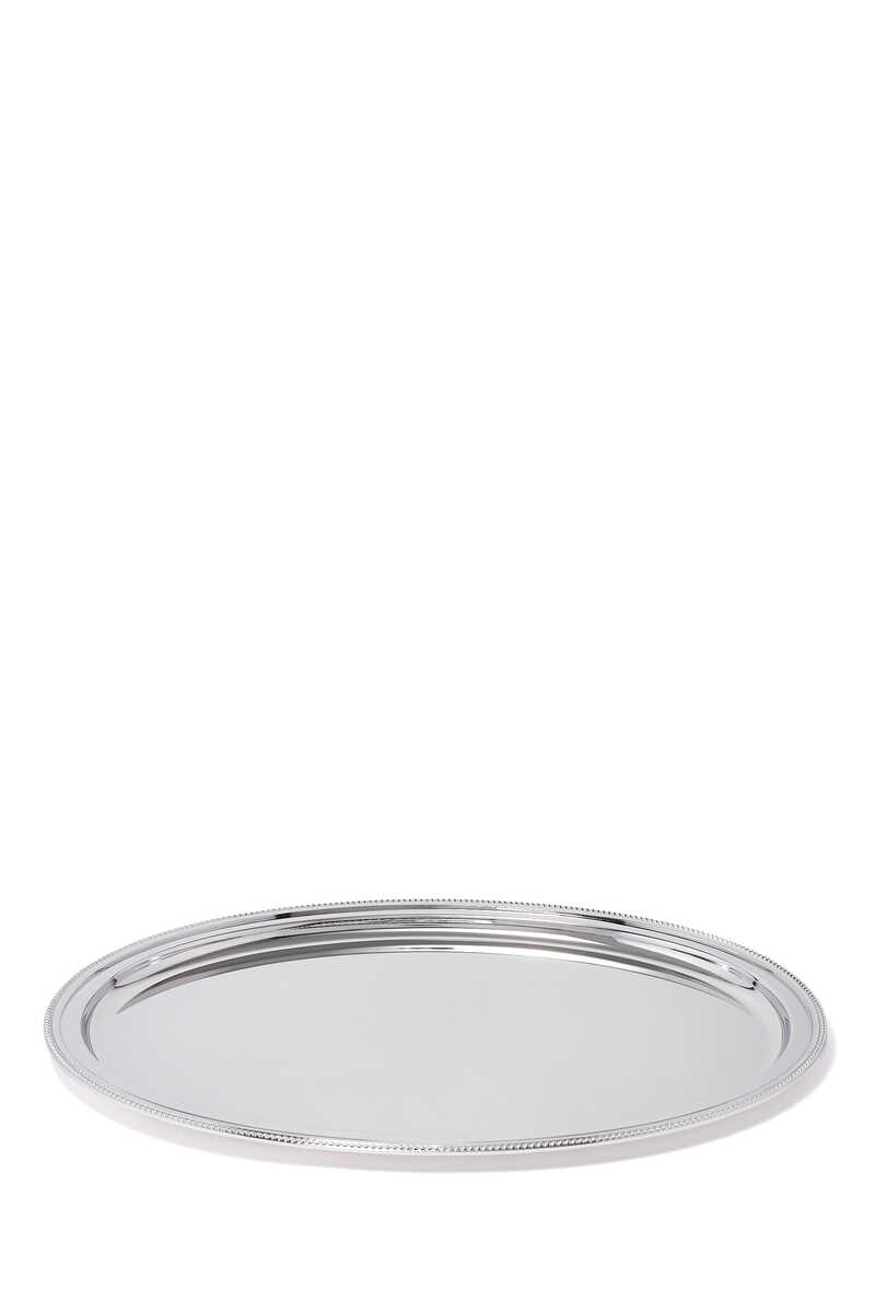 Oval Perles Tray image number 1