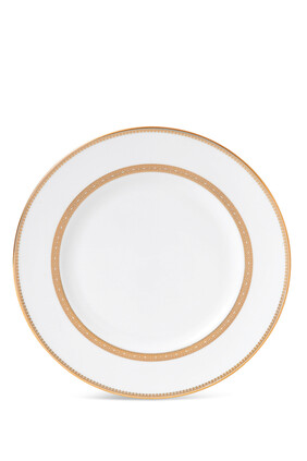Vera Wang Lace Gold Dinner Plate