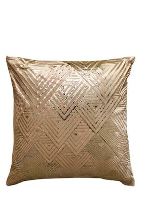 Geometric Pattern Cushion Cover