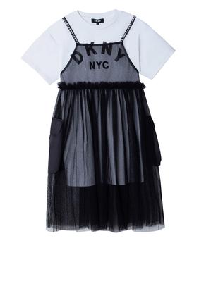 Tulle T-Shirt Dress