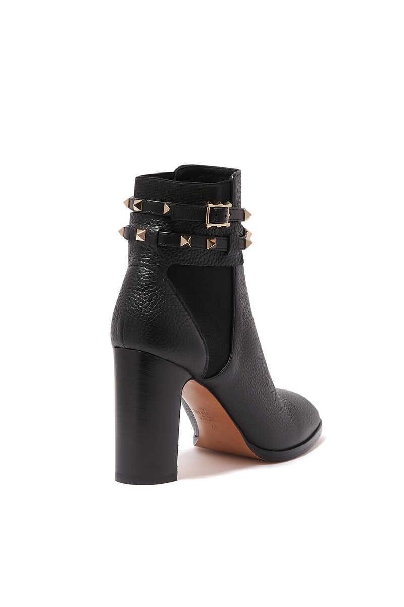 Valentino Garavani Rockstud Leather Boots image number 3