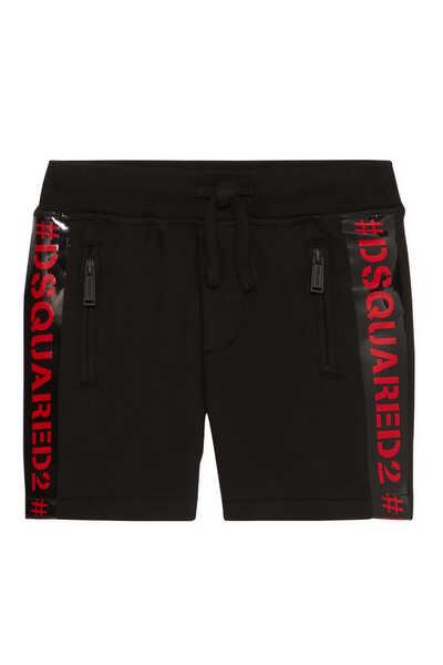 Contrast Logo Shorts