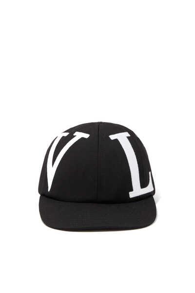 Valentino Garavani VLTN Stretch Wool Cap