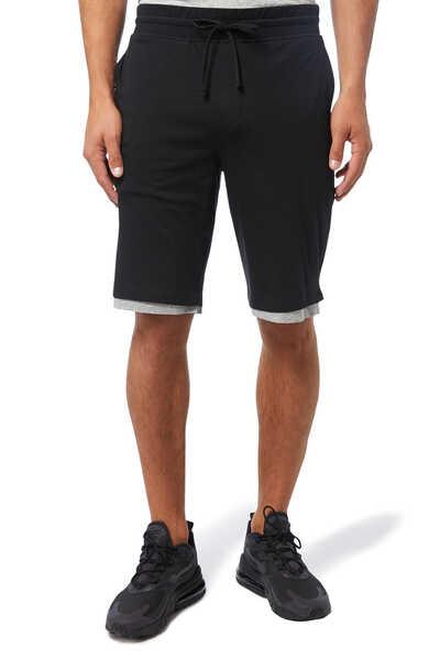 Double Layer Pima Cotton Shorts