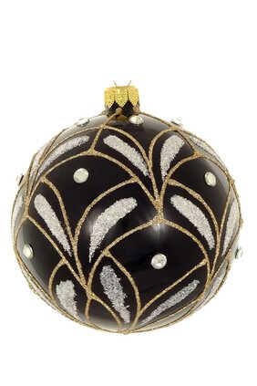 Champagne Glitter Gold Ornament