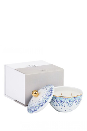 Mirrors Blue Vetiver and Cedar Candle Gift Box