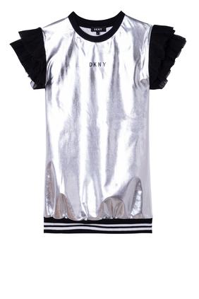 Metallic Short Dress