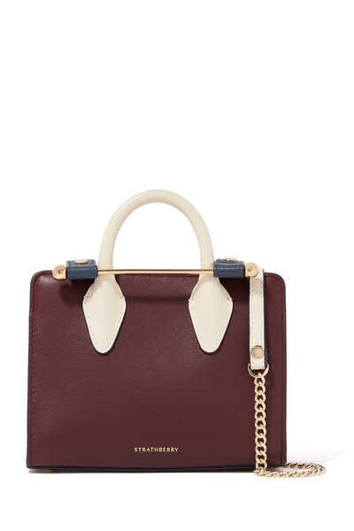 Tricolor Nano Tote Bag