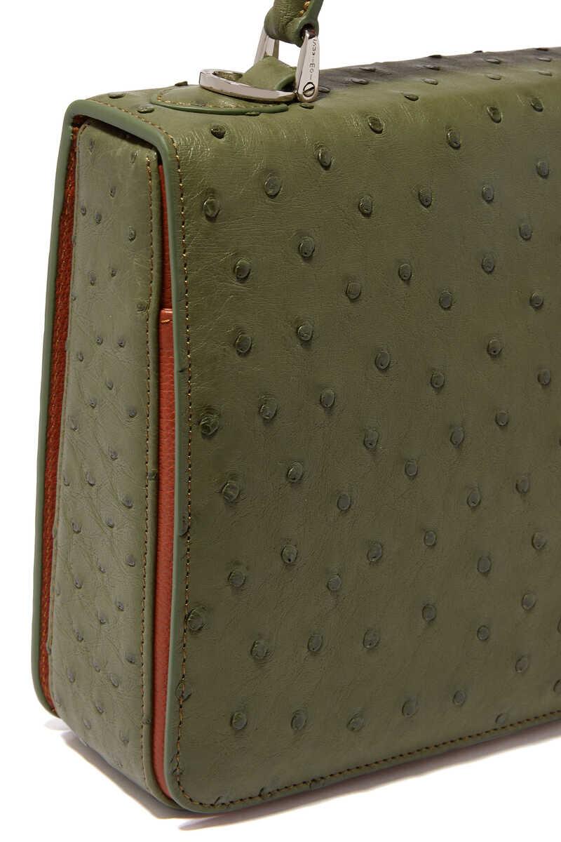 Square F Top Handle Bag image number 3