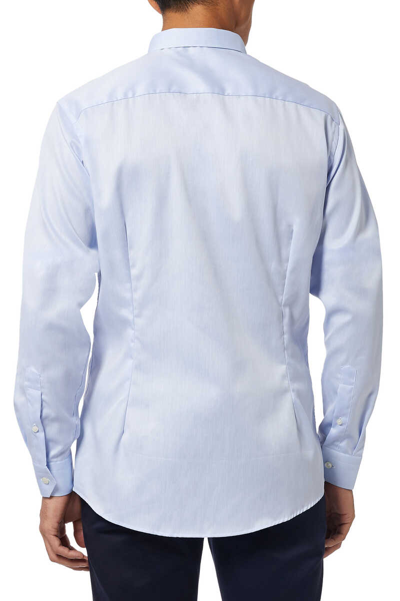 Super Slim Fit Signature Twill Shirt image thumbnail number 3