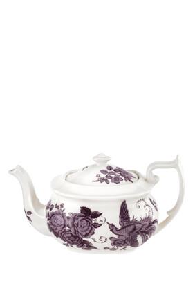 Kingsley White Teapot