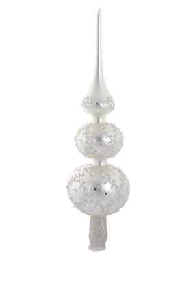Jeweled and Glitter Tree Topper