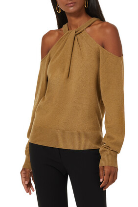 Nasrin Wool and Cashmere Sweater