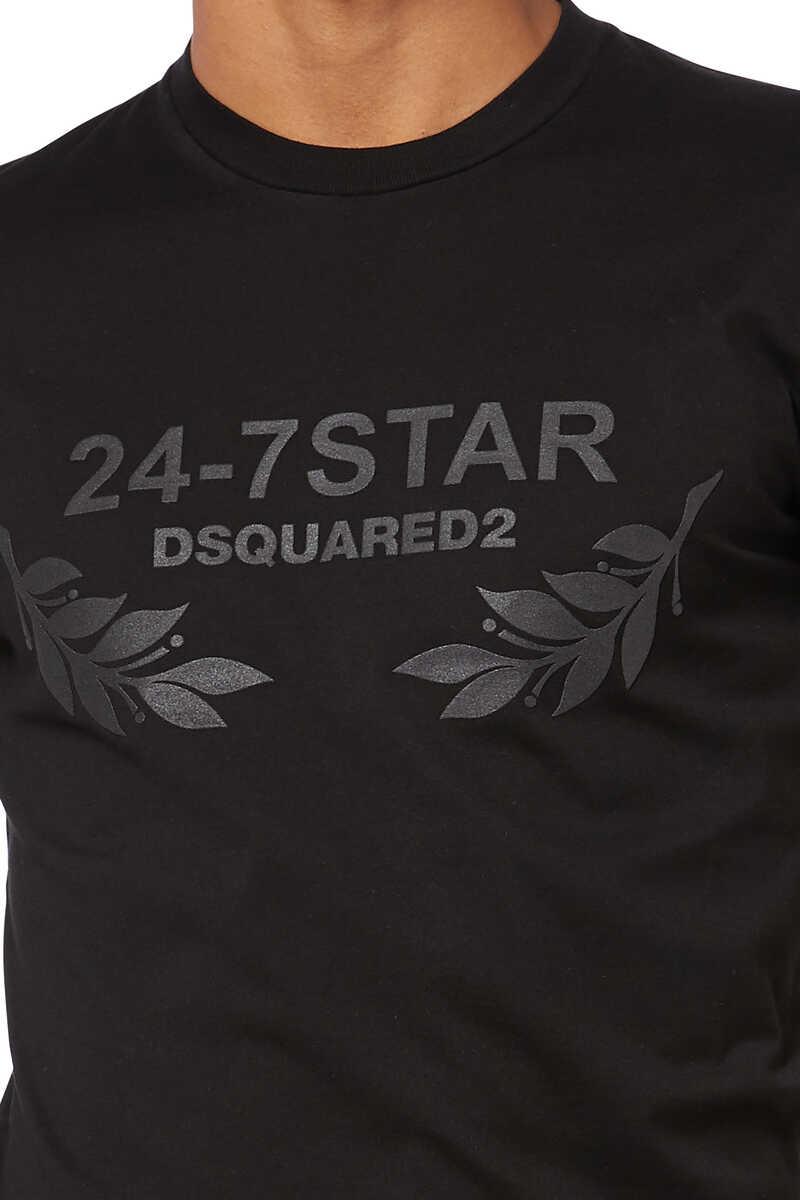 Dsquared 24/7 Star Logo T-shirt image number 4