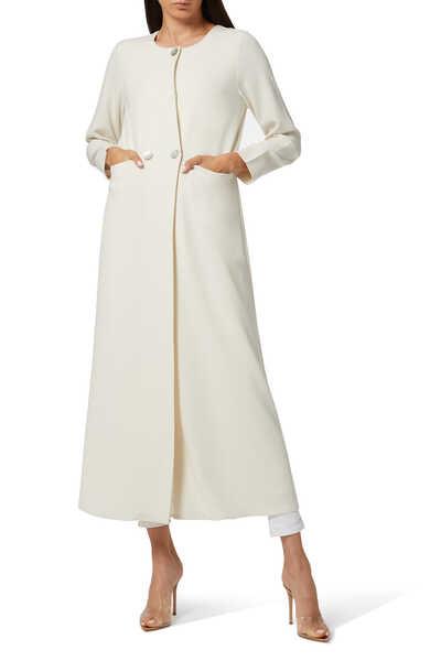 Long Slim Coat Abaya