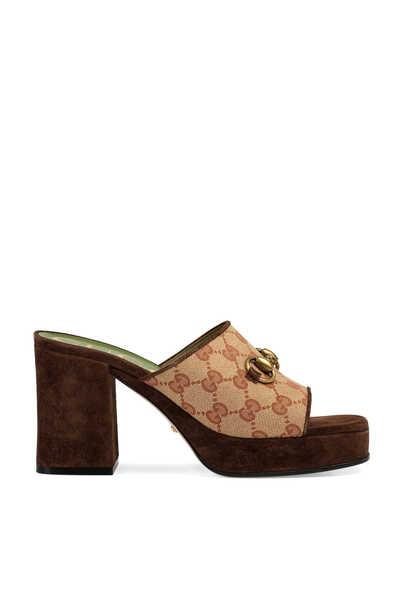 GG Platform Sandals