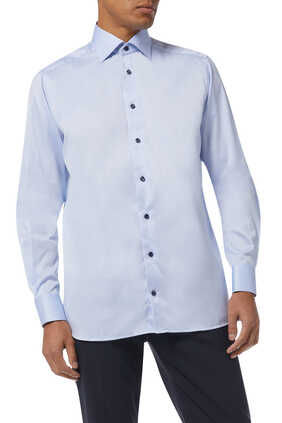 Contemporary Fit Twill Shirt
