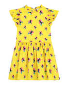 Butterfly Cotton Dress