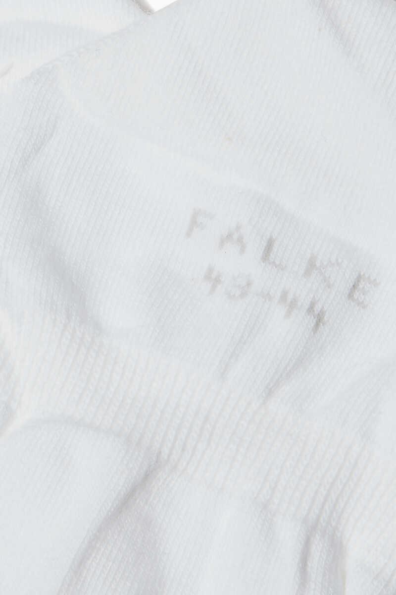 White Step No-Show Socks image number 3