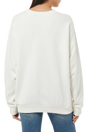 Bananya Cotton Oversized Sweatshirt