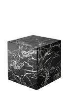 EZ S/Tbl Cube Link Blk Marble 50x50x50