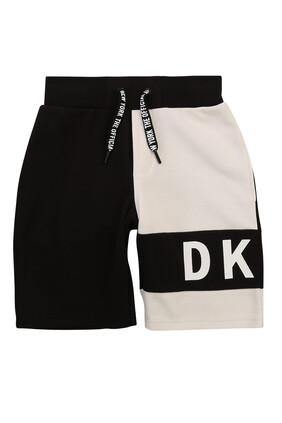 Logo Bi-Color Shorts