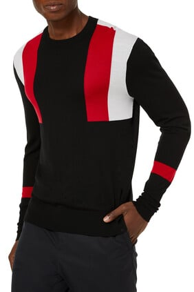 Modernist Colorblock Sweater