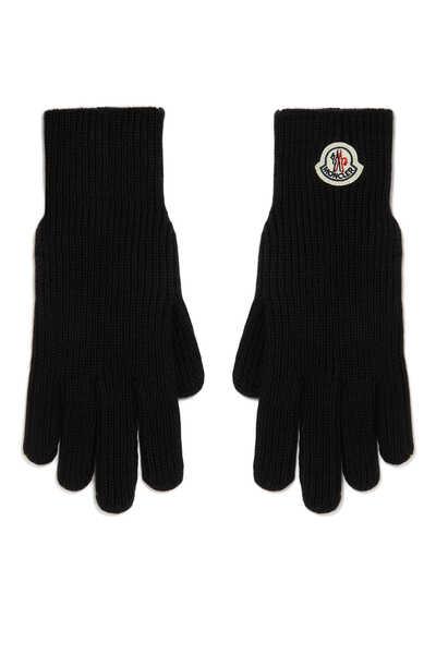 Logo Wool Gloves