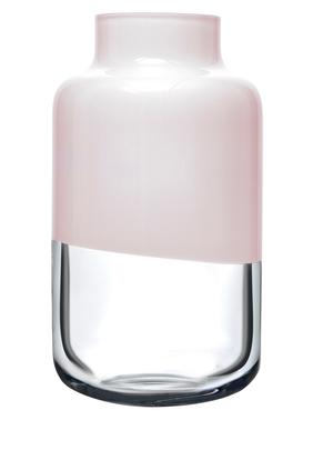 DJ Vase Nude Magnolia Opal Pink 180mm:Light/Pastel Pink:One Size