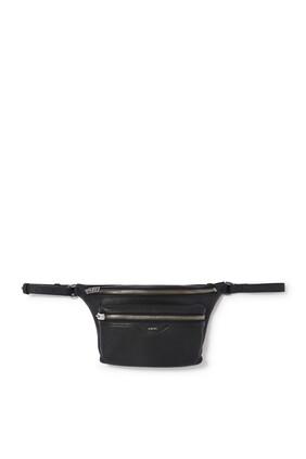 Pebbled Leather Belt Bag