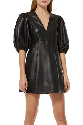 Mini Leather Dress