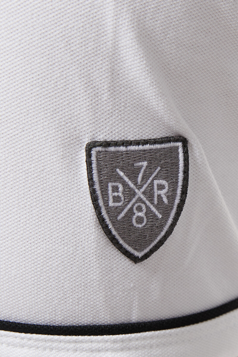Tipped Pique Polo Shirt image number 4