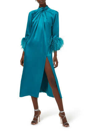 Fujiko Satin Dress