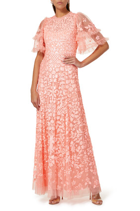 Aurelia Sequin Gown