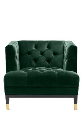 Castelle Velvet Chair