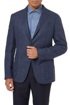 Cashmere and Cotton-Blend Blazer