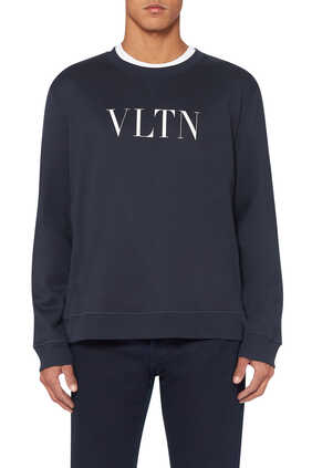 VLTN Print Crewneck Sweatshirt